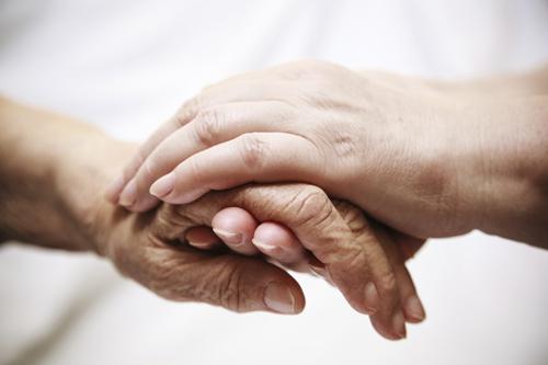 Image of hands.